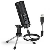 Микрофон Maono AU-PM461TR для игр и подкастов (Черный)