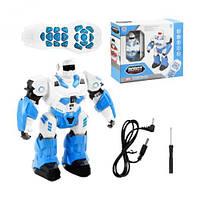 97744 [7707] Робот на радіоуправлінні 7707 (18) розбірний, світло, звук, ходить, танцює, програмується,