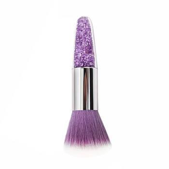 Щітка манікюрна Lidan FCS-X123 Purple Star Diamond для видалення пилу з нігтів