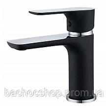 Смеситель для раковины Rea Sky chrom/black (REA-B0177)