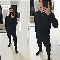 """Куртка мужская мокрый замш размер 48-52(3цв) """"BARBARA"""" недорого от прямого поставщика"""