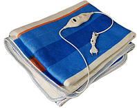 Електропростинь ковдра з підігрівом Electric Blanket 150*120 см одеяло с подогревом