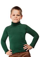 Гольф детский на флисе 02 зеленый