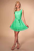 Женское лёгкое летнее платье из трикотажа