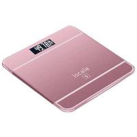 Електронні ваги підлогові iScale, 180 кг (0.1 кг), температура, бузковий