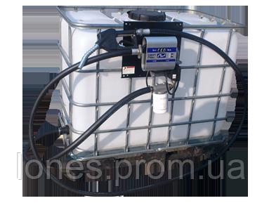 Мини АЗС с Еврокубом на 1 000 литров