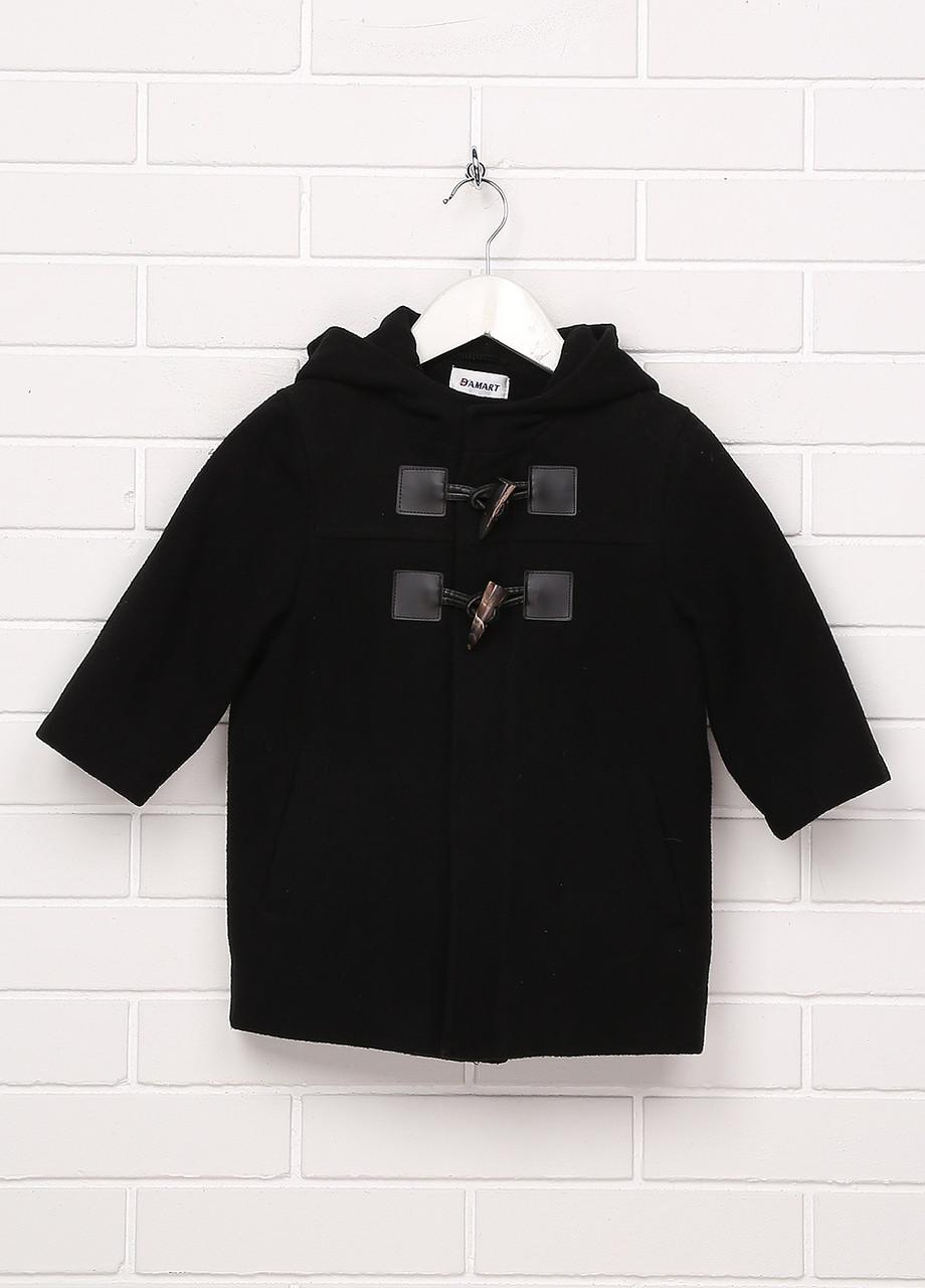 Пальто для мальчика Damart 24 месяца Черное (2900056266017)