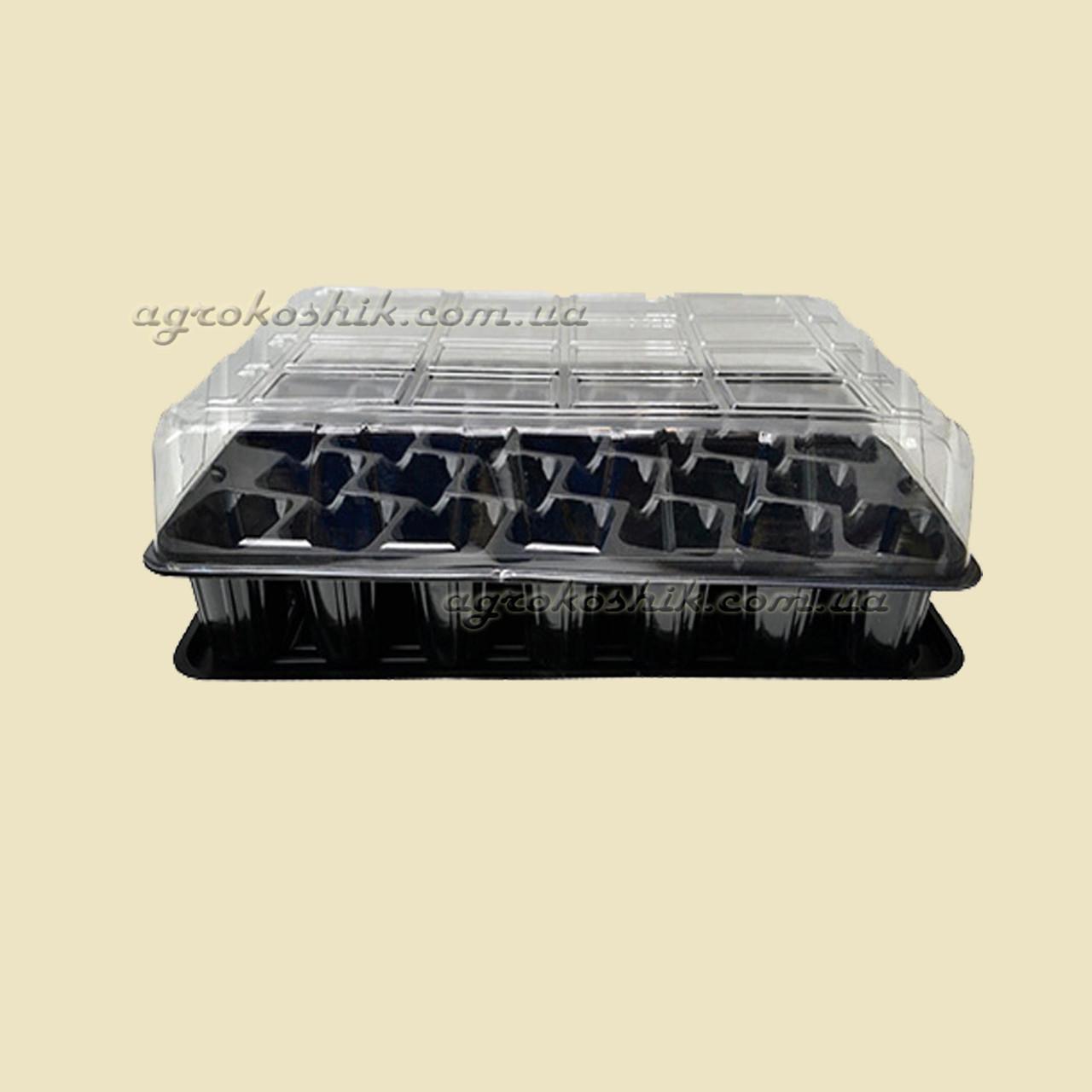 Минипарник 33 ячейки (+ поддон и крышка)