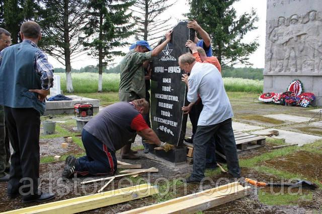 Особенности установки гранитных памятников