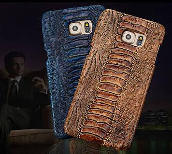 "Samsung S6 G920 GALAXY Накладка чехол бампер ИЗ НАТУРАЛЬНОЙ КОЖИ для телефона ""QX STRAUS"""