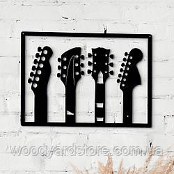 Декоративне панно з дерева. Декор на стіну. Твоя Гітара