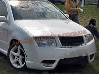 Передний бампер из стеклопластика для Skoda Fabia 2002-08