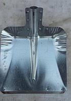 Лопата снегоуборочная оцинкованная (без черенка), фото 1