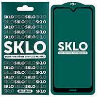 Защитное стекло SKLO 5D (full glue) для Redmi Note 8T