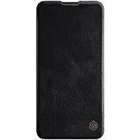 Кожаный чехол книжка Nillkin Qin Series для Huawei P40 Черный