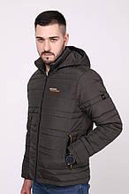 Чоловіча демісезонна куртка з капюшоном Northmen 157, хакі