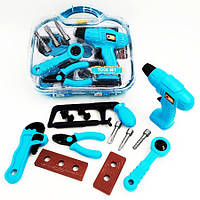 Дитячий ігровий набір інструментів 6601-1/2 у валізі (6601-1)