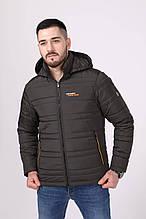 Чоловіча демісезонна куртка з капюшоном Northmen 157, хакі 52