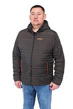 Чоловіча демісезонна куртка з капюшоном Northmen 157, хакі 64