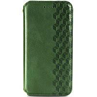 Кожаный чехол книжка GETMAN Cubic для Samsung Galaxy M51