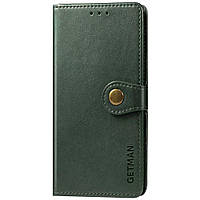 Кожаный чехол книжка GETMAN Gallant для Samsung Galaxy M51