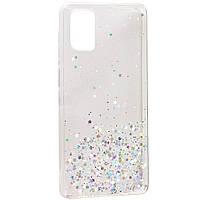 TPU чехол Star Glitter для Samsung Galaxy M51