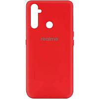 Чехол Silicone Cover My Color Full Protective (A) для Realme C3 / 5i Красный / Red