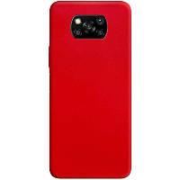 Силіконовий чохол Candy для Xiaomi Poco X3 NFC Червоний