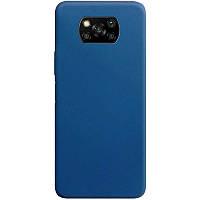 Силіконовий чохол Candy для Xiaomi Poco X3 NFC Синій