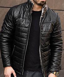 Мужская зимняя куртка на меху