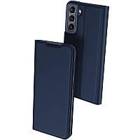 Чохол-книжка Dux Ducis з кишенею для візиток для Samsung Galaxy S21 FE Синій