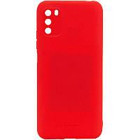 TPU чехол Molan Cano Smooth для Xiaomi Poco M3 Красный