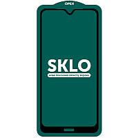 Защитное стекло SKLO 5D (full glue) (тех.пак) для Xiaomi Redmi Note 8T