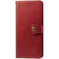 Кожаный чехол книжка GETMAN Gallant (PU) для Xiaomi Poco M3