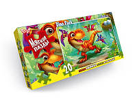Пазли 20 ел. м'які 230x165 Dino Park Danko Toys