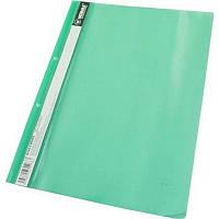 Папка швидкозшивач А4 120/160 мкм глянцева, з перфорацією Norma зелена