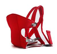 Слинг-рюкзак (носитель) для ребенка кенгуру Baby Carriers КРАСНЫЙ