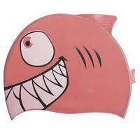 Шапочка для плавання дитяча Риба PL-1823 (силікон, кольори в асортименті) Код PL-1823