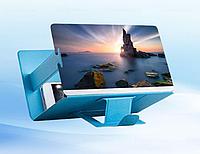 3D підставка - збільшувач екрана для смартфона. Синій