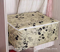 Органайзер для зберігання речей, ковдр, подушок, постільної білизни