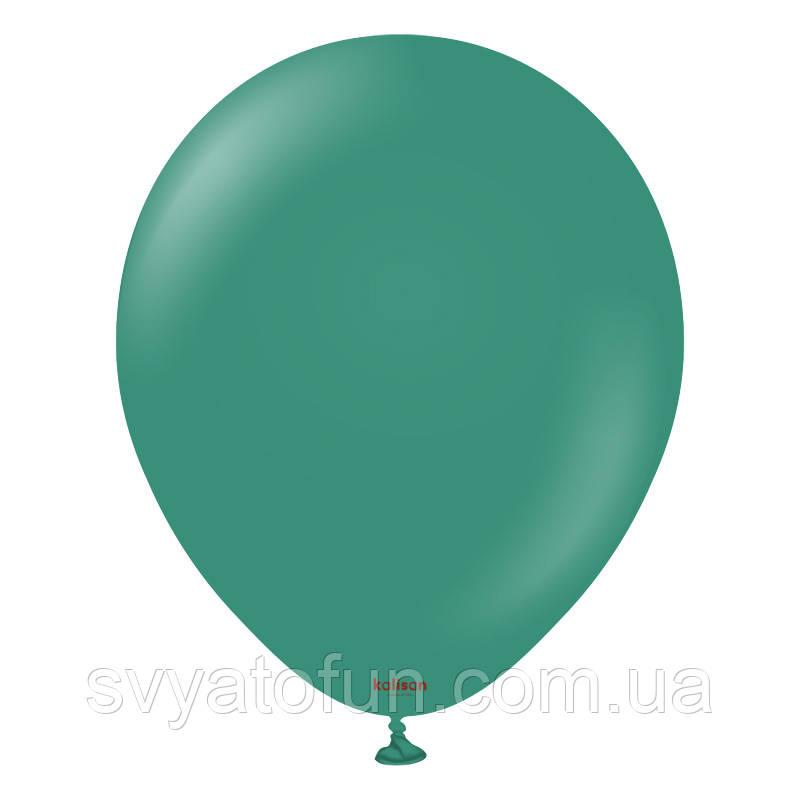 """Латексные воздушные шарики 5"""" Шалфей (Sage) 100шт/уп KL5 Kalisan"""