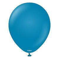 """Латексные воздушные шарики 5"""" Глубокий синий (Deep blue) 100шт/уп KL5 Kalisan"""