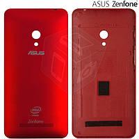 Задняя панель корпуса для Asus ZenFone 5 (A501CG), красный, оригинал