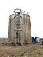 Монтаж резервуара вертикального стального цилиндрического тип РВС