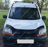 Дефлектор капота Рено Кангу 1 (мухобойка на капот Renault Kangoo 1)