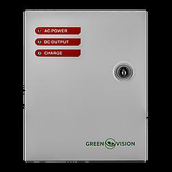 Блок бесперебойного питания с АКБ GreenVision GV-001-UPS-A-1201-3A-7Ah