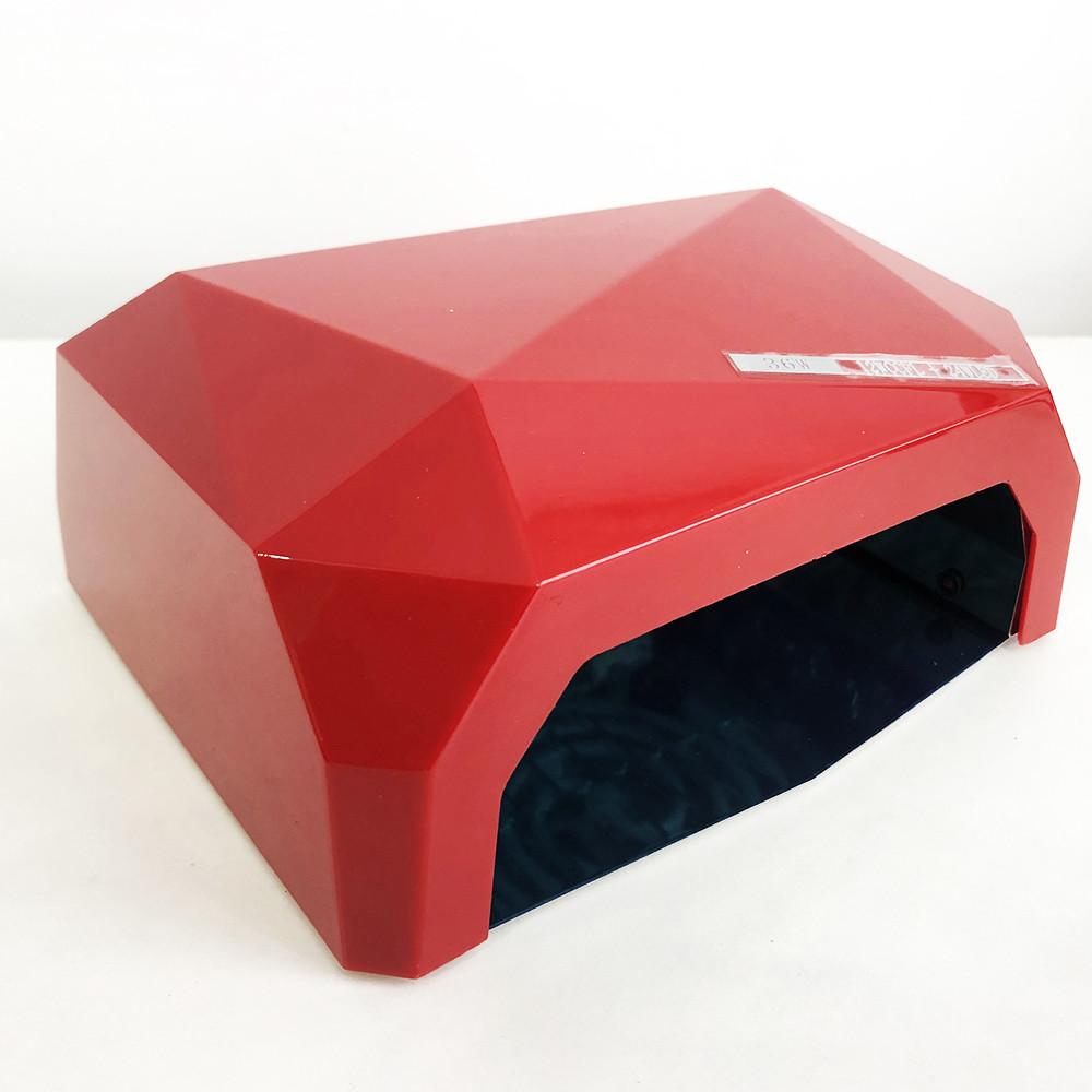 Сушарка для нігтів UV LAMP CCF + LED. Колір червоний