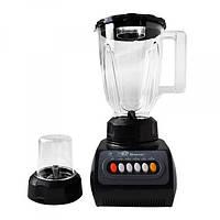 Блендер стационарный с кофемолкой DOMOTEC MS-9099 250Вт. Цвет: черный, фото 1