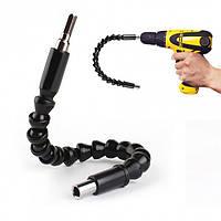 Гнучкий магнітний подовжувач для викрутки і дрилі Snake Bit, фото 1