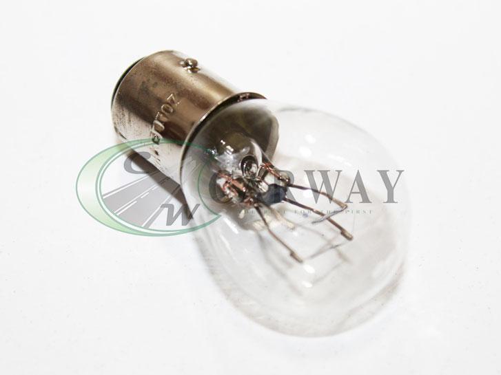 Лампа 12в цокольна P21/5w стопів 2х конт. (хв 10шт) 8724 Zollex